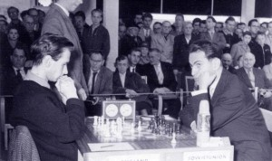 Dr. Penrose plays Mikhail Tal in 1960. Full game here.